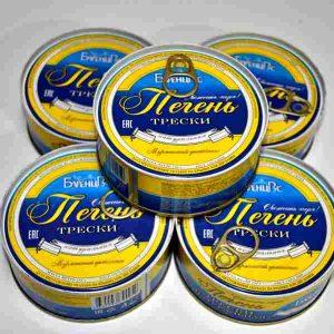 Печень трески из охлажденного сырья (Мурманск)