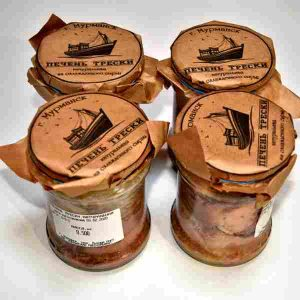 Печень трески 500г (Мурманск)