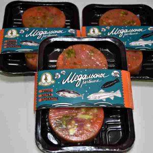 Медальоны тунец, нерка, брокколи