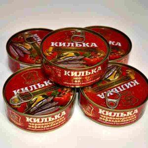 Килька в томатном соусе (Керчь)